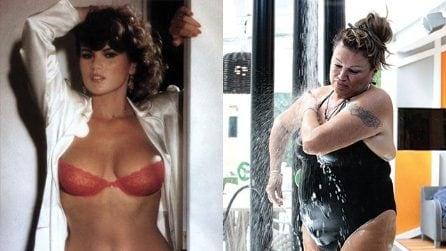 La doccia di Serena Grandi al GfVip: c'era una volta una diva e ora non c'è più