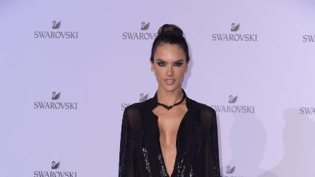 Le star al party milanese di Swarovski