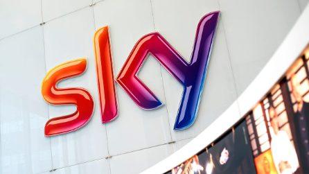 Nei nuovi uffici di Sky Italia a Milano