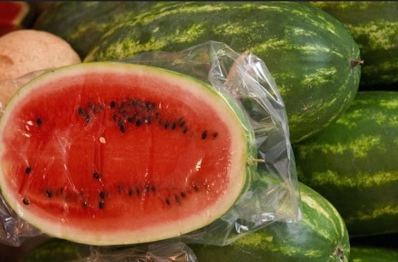 Modern watermelon look different from the past, apart from the seeds, which some varieties still feature. In addition, the pulp looks redder.