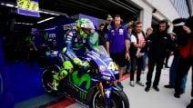 Valentino Rossi, il ritorno in pista ad Aragon