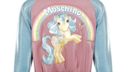 My Little Pony, la nuova capsule collection di Moschino