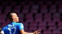 Serie A, le immagini di Napoli-Cagliari