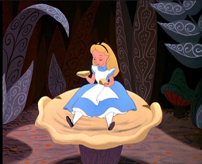 """Fonte: """"Alice nel paese delle meraviglie"""" (1951)"""