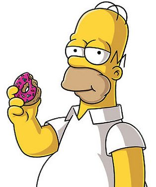 """Fonte: """"The Simpsons"""""""