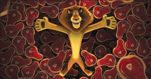 """Fonte: """"Madagascar"""" (2005)"""
