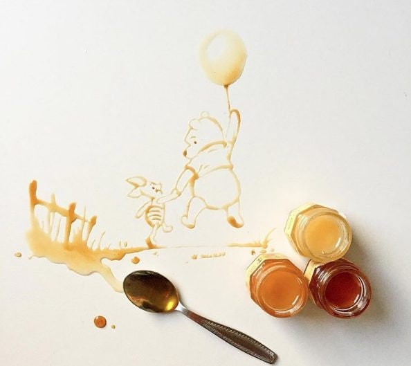 Winnie Pooh ama il miele, e il miele diventa Winnie Pooh.