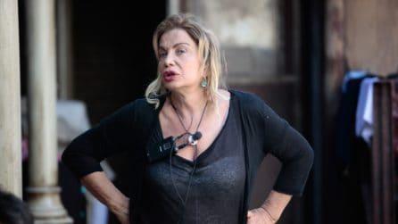 Simona Izzo senza trucco al Grande Fratello