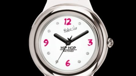 Gli orologi Hip Hop disegnati da Bebe Vio