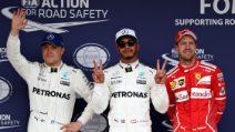 In Giappone è Lewis Hamilton a scattare in pole position, ma Vettel è al suo fianco
