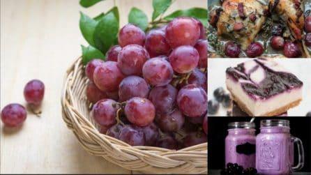 11 ricette che ti faranno amare l'uva