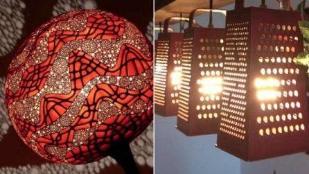 Gli oggetti comuni prendono nuova vita: le 20 lampade fai da te più spettacolari