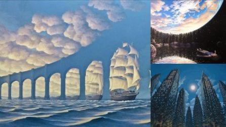 12 dipinti surreali che ti faranno dubitare di ciò che stai guardando
