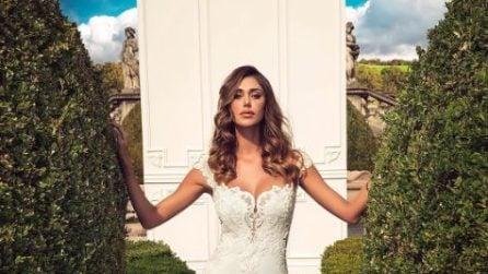 Belén Rodriguez di nuovo in abito da sposa