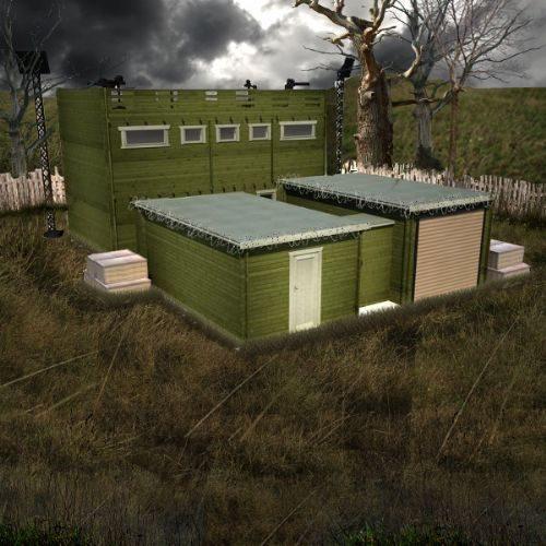 Questa è la prima abitazione progettata per sopravvivere all'apocalisse di zombie. In realtà, al di là dei film di horror e fantascienza, questa casa è un perfetto rifugio contro qualsiasi pericolo esterno.