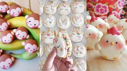 Le idee per realizzare deliziosi macarons a forma di animali