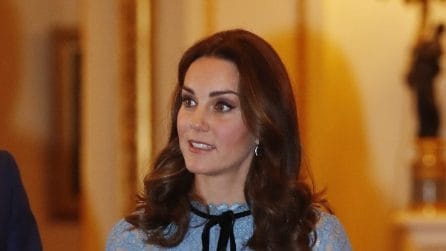 Il primo look premaman di Kate Middleton