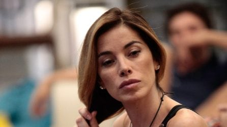 Aida Yespica senza trucco al GF Vip
