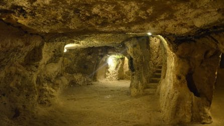 Derinkuyu, in una delle città sotterranee più grandi del mondo
