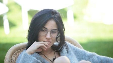 Gli occhiali da vista di Giulia De Lellis al GF Vip