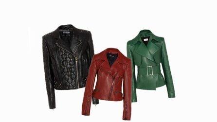 Le giacche in pelle per l'autunno 2017