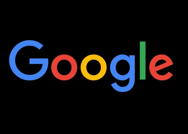 Il logo di Google è stato ideato in concomitanza della fondazione della società, nel 1988, da Sergey Brin, uno dei fondatori. La scritta creata per identificare l'azienda utilizzava il programma grafico GIMP. Nel 1998 il logo è stato modificato da Ruth Kedar nella pubblicazione non lucida del logo ora iconico, con un segno di esclamazione aggiunto, come per voler imitare il logo Yahoo!
