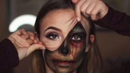 Illusion make-up, la moda che spopola sui social