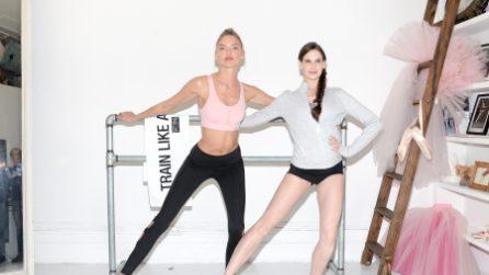 Martha Hunt in versione ballerina