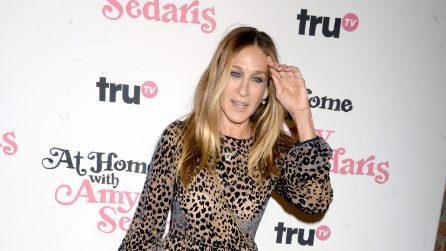 Sarah Jessica Parker in versione leopardo