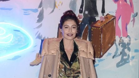 Alessandra Mastronardi indossa il pigiama