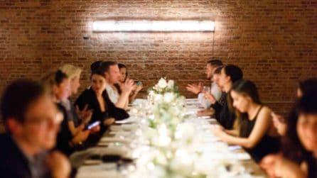 La festa per il lancio di Eternity Calvin Klein