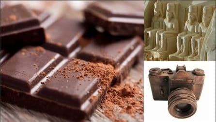 13 straordinarie sculture di cioccolato: l'arte non ha confini
