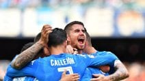 Serie A, le immagini di Napoli-Sassuolo