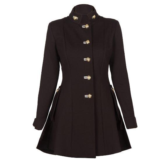Il cappotto dall'animo nero