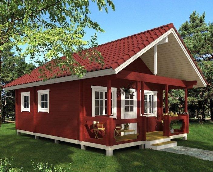 Se non vi serve tutto lo spazio delle abitazioni Eagle Point, questa piccola casa contemporanea è la soluzione perfetta: misura appena 32 metri quadrati ma non manca di nulla. È l'ideale come casa per gli ospiti, ufficio o un rifugio per le vacanze. La casa viene spedita già con tutti i pezzi che devono essere solo assemblati. Le grandi finestre inondano lo spazio interno con tanta luce. L'unico difetto è che non c'è il bagno ma questa piccola casa può essere ordinata per soli 7.500 dollari.