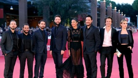 AFMV alla Festa di Roma: il red carpet dei The Jackal con il cast e i robot