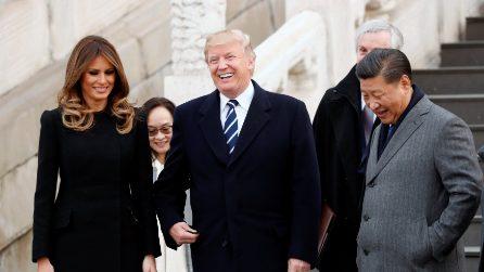 I look di Melania Trump per il viaggio in Cina