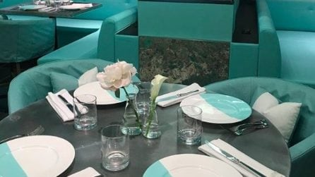 Blue Box Café, il bar dove sarà possibile fare Colazione da Tiffany
