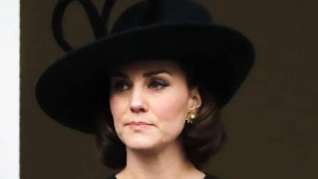 Il finto caschetto di Kate Middleton