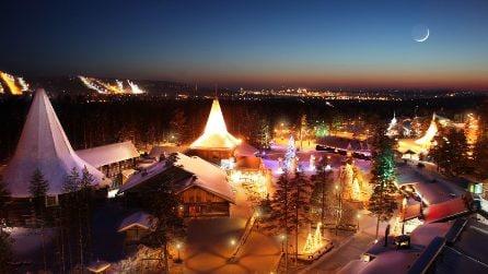 Ecco il vero villaggio di Babbo Natale
