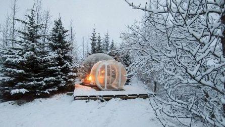 """Nell'hotel di """"bolle"""" con vista mozzafiato sulla natura"""