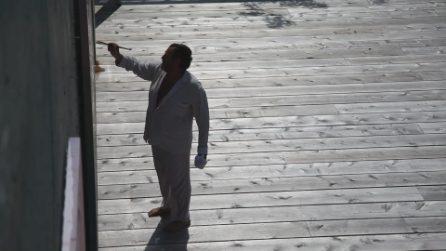 "Le foto dal film ""L'arte viva di Julian Schnabel"""
