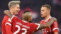 Bundesliga, le immagini di Bayern-Augusta