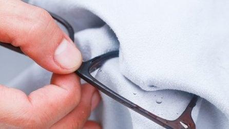 7 efficaci metodi per pulire gli occhiali