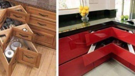 """Le soluzioni """"salvaspazio"""" in cucina e negli altri ambienti della casa"""