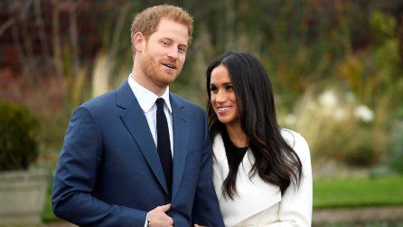 Il look del principe Henry e Meghan Markle per l'annuncio del fidanzamento