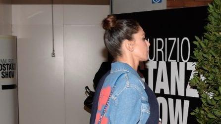 Belén Rodriguez fa shopping prima del Costanzo Show