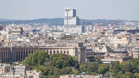 Immagini esclusive dal nuovo Tribunale di Parigi firmato da Renzo Piano