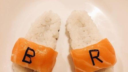 Yujia Hu, lo chef che crea piatti di sushi ispirati alla moda