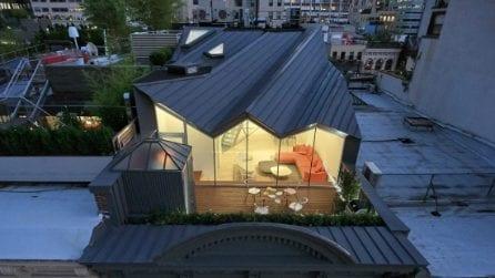 Un attico nascosto sui tetti di New York